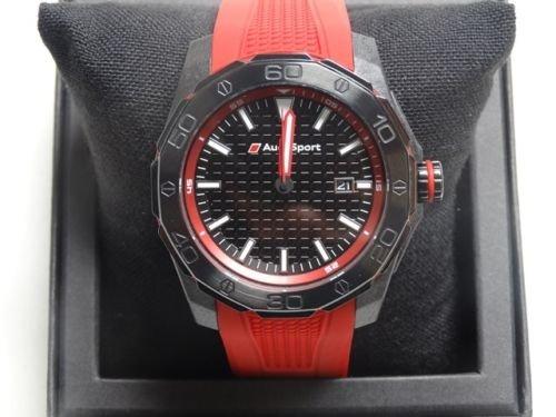 Audi Sport Uhr, rot/schwarz - 3101600801 Audi quattro GmbH