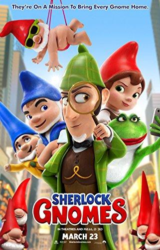 Sherlock Gnomes Movie Poster 18 x 28 Inches