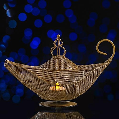 Magic Lamp Centerpiece (Arabian Themed Costumes)