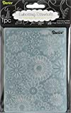 Darice Embossing Folder, 4.25 by 5.75-Inch, Flower Frenzy Background