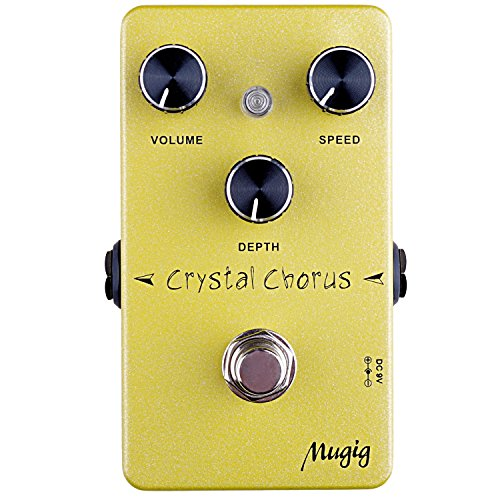 Love this pedal!!!! For an economy pedal, this thing sounds awesome