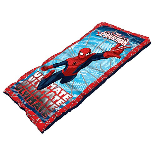 Spiderman-Youth-Sleeping-Bag-with-20-Pound-Fill-28-x-56-Inch