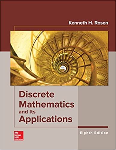 Discrete Mathematics And Its Applications 8 Kenneth Rosen Amazon Com