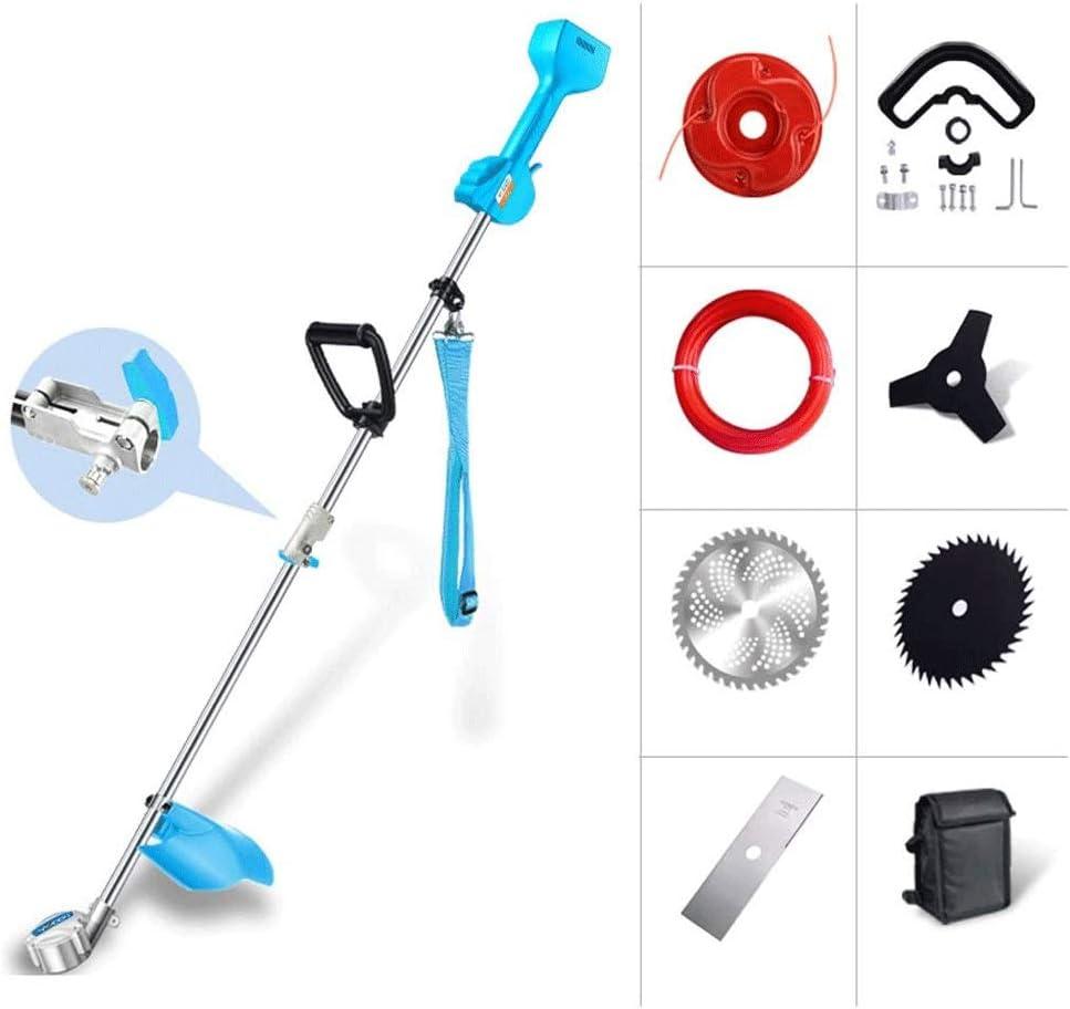 800W eléctrica cortadora de césped, cortacésped eléctrico recargable, se puede equipar con alta toque el cabezal de corte del seto cabeza, arroz Supporter