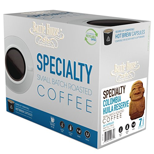 Barrie House Colombia Reserve Coffee Capsules, 11 oz, 24 ()