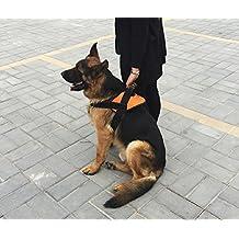 Big Dog Halter Harness No Pull Large Dogs Training Vest Lead with Sponge Traffic Handle for Husky Pitbull Golden retriever (XL)