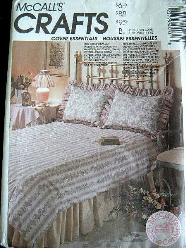 COVER ESSENTIALS - CHAIR COVERS AND MORE FROM MCCALLS CRAFTS SEWING PATTERN 4403 by McCall's Crafts   B0042GPD1E