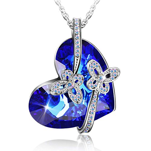 Elegant-Fashion-Necklace-with-Swarovski-Crystal-Heart-shaped-Pendant-Jewelry-that-Compliments-Any-Outfit-for-Womenengraved-with-You-are-so-loved