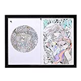 A4/A3/A2 Light Box Drawing, Ultra-Thin LED Copy Board and USB Cable Drawing Light pad, Art Craft Drawing Tracking Tattoo Board Artist, Drawing, Anime, Sketch, Design