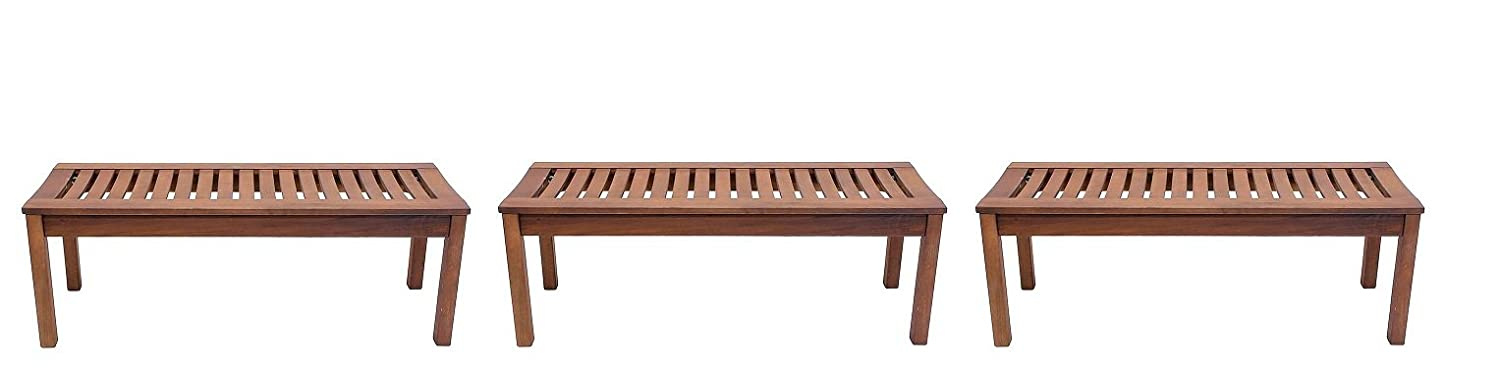 Achla Designs Backless Bench 4-Foot