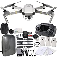 DJI Mavic Pro Platinum FLY MORE COMBO Collapsible Quadcopter Hardshell Backpack Bundle