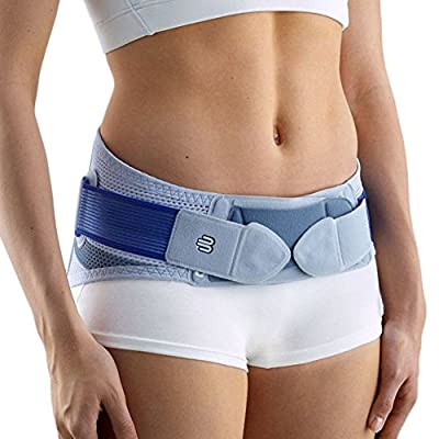 Bauerfeind - SacroLoc - Back Support - Pain Relief and Back Support from Sitting or Standing Too Long, Helps Stabilize & Relieve Pressure in The Sacroiliac Joints
