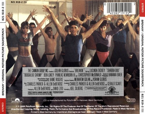 Breakin' Original Motion Picture Soundtrack by PolyGram