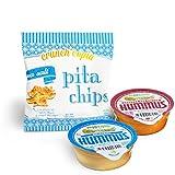 #2: Dip & Chips - Veggicopia Hummus and Crunchicopia Pita Chips (24-Pack)