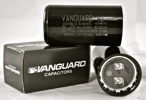Vanguard BC-460, 460-552 MFD, 110-125VAC, Capacitor