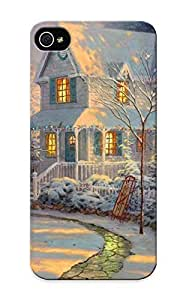 Iphone 5/5s Case Cover Thomaskinkade Paintings Artistic Case - Eco-friendly Packaging