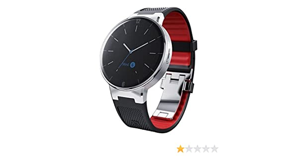 Alcatel OneTouch SmartWatch Wave negro y rojo: Amazon.es ...