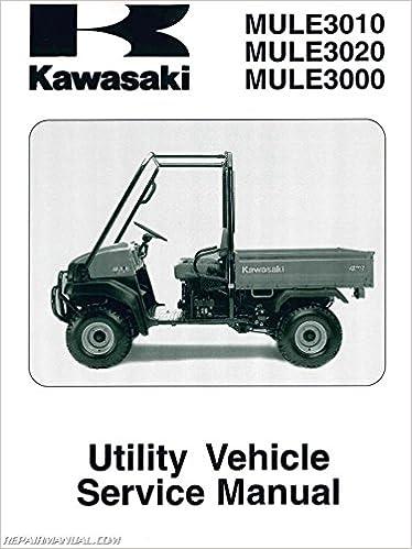 99924126208 20012008 Kawasaki Kaf620 Mule 3000 3010 3020 Service. 99924126208 20012008 Kawasaki Kaf620 Mule 3000 3010 3020 Service Manual Manufacturer Amazon Books. Kawasaki. 2007 3010 Kawasaki Mule Parts Diagram At Scoala.co