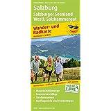 Salzburg, Salzburger Seenland, Westl. Salzkammergut: Wander- und Radkarte mit Ausflugszielen & Freizeittipps, wetterfest, reißfest, abwischbar, GPS-genau. 1:35000 (Wander- und Radkarte / WuRK)