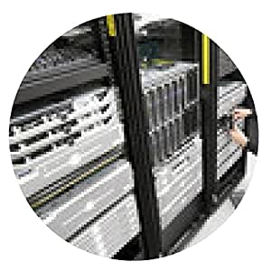 alfombrilla de ratón Dirige el disco duro en lugar de en el centro de datos - ronda - 20cm