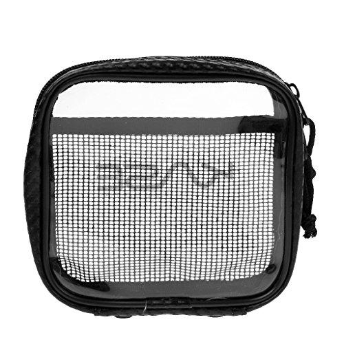 Gazechimp Wasserdicht Mini Aufbewahrung Tasche (Durchsichtig) für Zubehör, Tasche - M