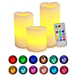 RGB LIGHTINGThe remote provides 12 preset colors. However, the candles support RGB lighting! Press the multi color button on the remote and let the candles smoothly transit between colors. Press it again and stop on any color you prefer! REMOTE CONTR...