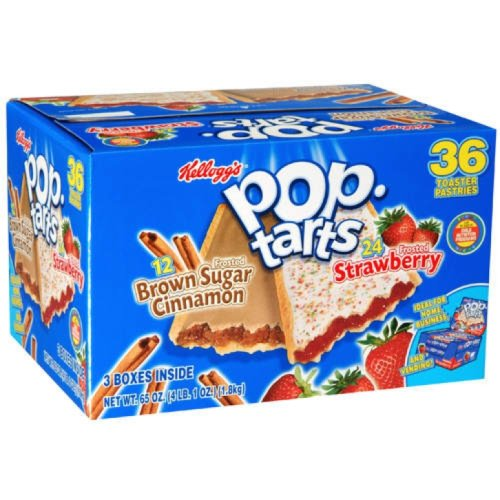 Pastries Pack Variety (Kellogg's Pop-Tarts Variety Pack - 36 Pastries (4.14 lbs))