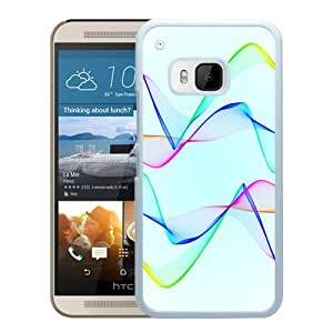 Wave Pulse Light (2) Durable High Quality HTC ONE M9 Phone Case
