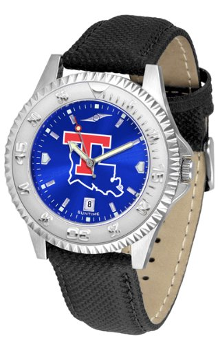 (Louisiana Tech Bulldogs Competitor AnoChrome Men's Watch)
