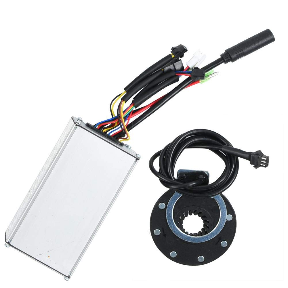 Focket Kit de Conversi/ón de Bicicleta El/éctrica,Rueda de 20 Pulgadas 48V 500W Kits de Motor de Bicicleta El/éctrica Potente Controlador con Pantalla KT-LCD5 Instrumento