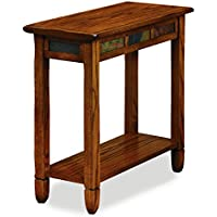 Leick 10060 Rustic Oak Chairside End Table