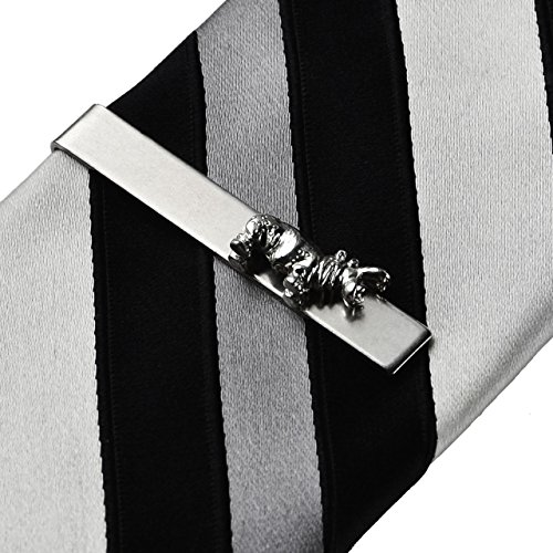 Quality Handcrafts Guaranteed Hippo Tie Clip
