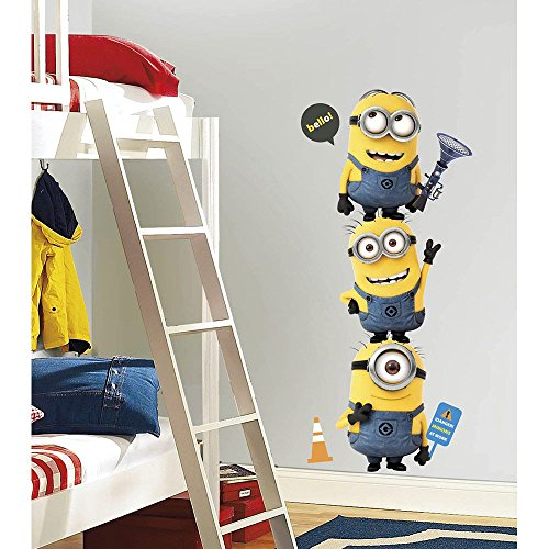 Despicable Me Minion Wall Decal (Each) - Party Supplies