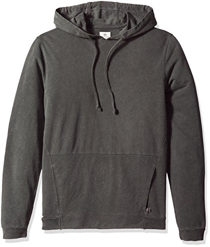 AG Adriano Goldschmied Men's Eloi Pullover in True Black, Pigment True Black, Medium by AG Adriano Goldschmied