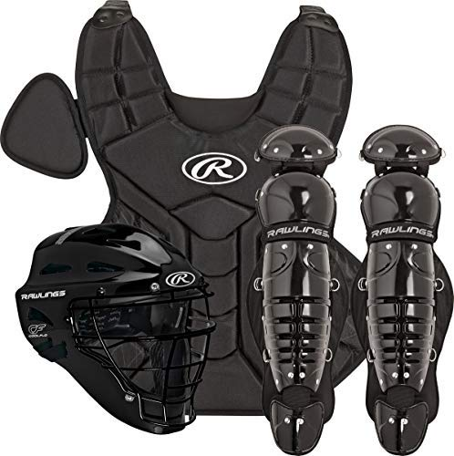 Rawlings Catchers Set Intermediate (Ages 12-15) Black