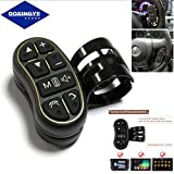 DOXINGYE Car Steering Wheel Buttons Controller Wireless Remote Control For Universal Car Stereo DVD GPS Navigation