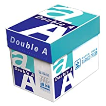 Double A Copy Paper, 8.5x11-Inch Letter Size, 22-Pound, 94 Bright White, 5 Reams, 2500 Sheets (AA 22# 5RM CART)