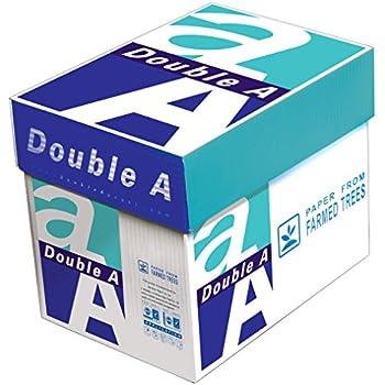 Double A 22 lb. Premium Paper, Letter Size, 5 Reams, 2500 Total Sheets  (AA 22# 5RM CART)