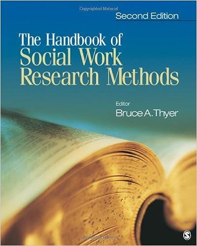 Amazon.com: The Handbook of Social Work Research Methods ...