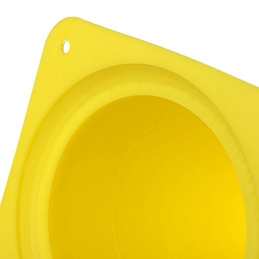 Homyl 1 Pedazo de Cono de Seguridad Accesorio de Entrenamiento de Correr de Futból  para Deportista - amarillo  Amazon.es  Productos para mascotas f94405046b16f
