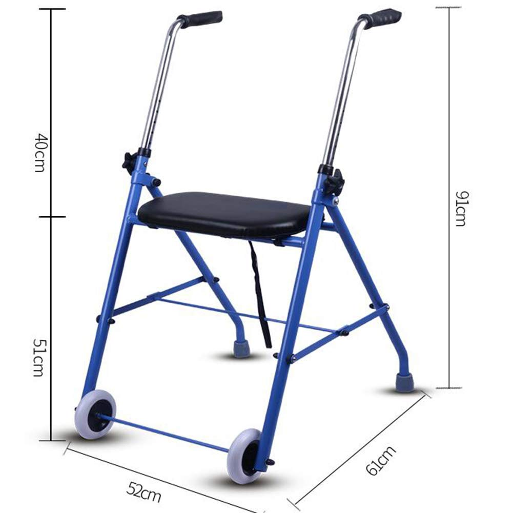 Amazon.com: Alexzh_Rollator Lightweight Folding Walker with ...