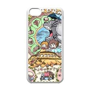 IPhone 5C Phone Case for Classic theme My Neighbor Totoro pattern design GQCTMNTR768999