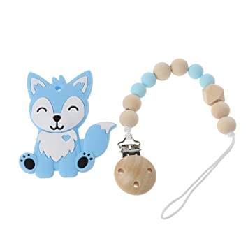 1 Piece Bpa Free 100% Food Grade Silicone Dog Beads Baby Chewable Animal Teething Beads For Pacifier Clip Or Soothing Products Beads & Jewelry Making