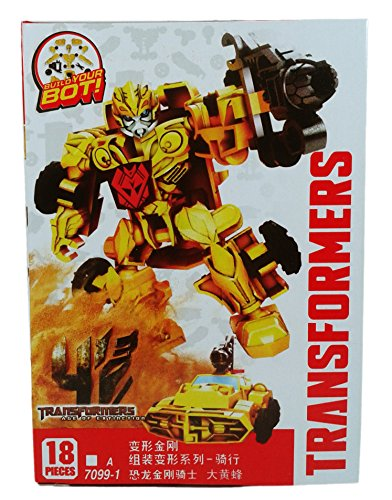 Transformers Age of Extinction Bumblebee Buildable Action Figure