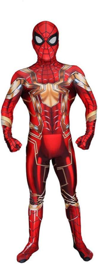 ERTSDFXA Iron Spiderman Disfraces Adulto Nino Disfraz De ...