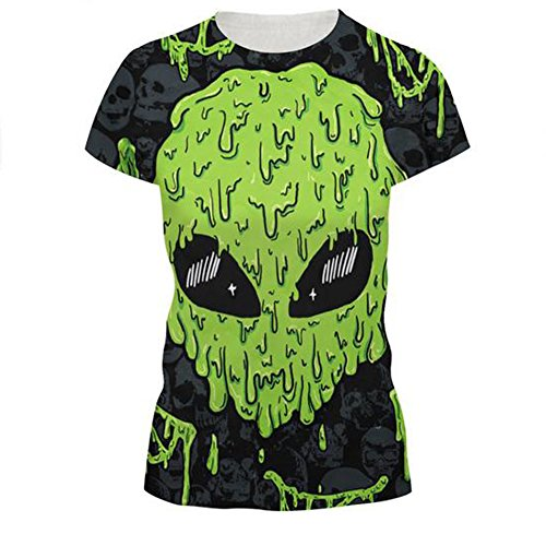 Elakaka Women's 3D Printing Leisure Slim Short Sleeve T-shirt£¨224 S£ (Portfolio Mix And Match compare prices)