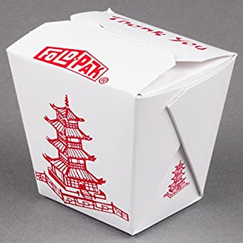 fold-Pak 08 mwpagodm 8 oz. Pagoda chino/Asia papel para microondas ...