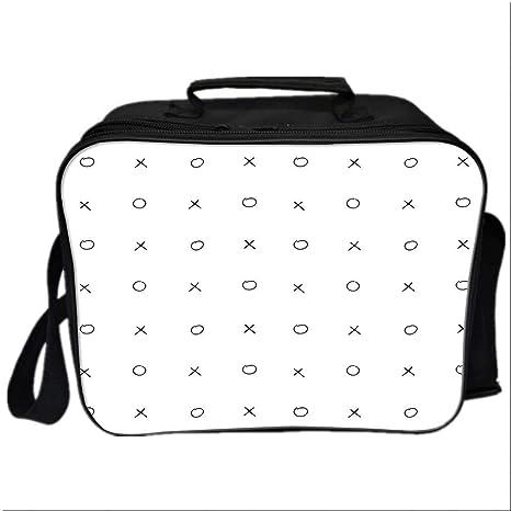 d27ce5c4390f Amazon.com: Xo Decor Lunch Bag Meal Bag, Hand Drawn Cross Zero ...