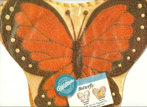 Wilton Cake Pan: Butterfly/Monarch Butterfly/Fairy (502-5409, ()