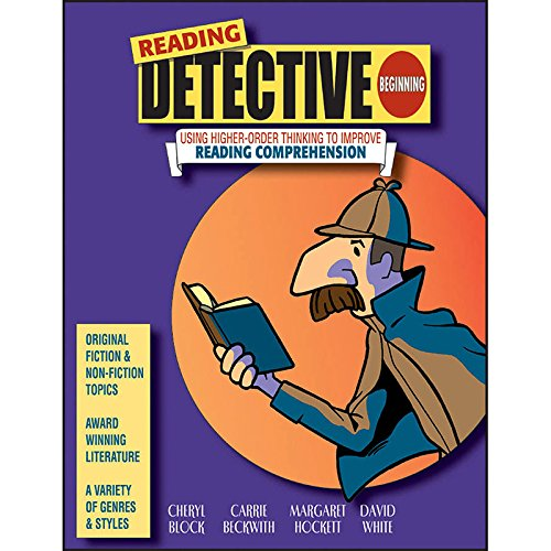 THE CRITICAL THINKING CO. READING DETECTIVE BEGINNING GR 3-4 (Set of 3)
